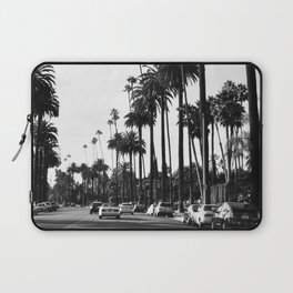 Los Angeles Black and White Laptop Sleeve