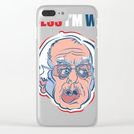 I guess i'm with her Clear iPhone Case