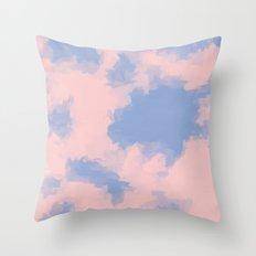 BLOSSOMS - ROSE QUARTZ / SERENITY 3 Throw Pillow