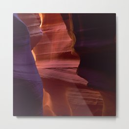 Antelope Slot Canyon With Mystical, Magical Wonder Metal Print