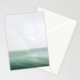 Rainbow in the Sea Stationery Cards