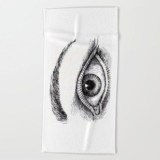 Eye Beach Towel