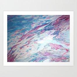 Disastrous Creations Art Print