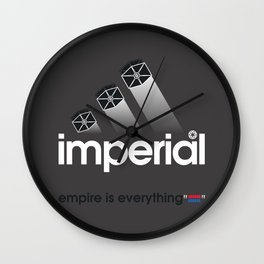 Brand Wars: Imperial Wall Clock