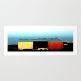 Cala Tarida-4 Art Print