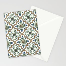 Spanish Tile Pattern – Andalusian ceramic from Seville Stationery Cards