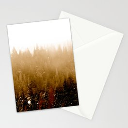 Warm Pines Stationery Cards