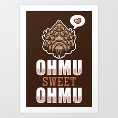 Ohmu Sweet Ohmu Art Print