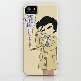 Columbo - Just One More Thing iPhone Case