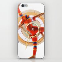 pivot iPhone & iPod Skins featuring Pivot | Collage by Lucid House