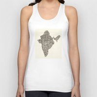 india Tank Tops featuring India by Mariana Beldi