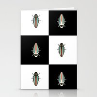 beetle Stationery Cards featuring Beetle  by Juliana Zimmermann