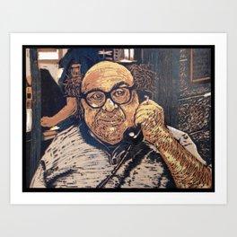 Danny Devito Reduction Print Art Print
