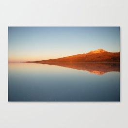 Salar De Uyuni Sunrise 5 Canvas Print