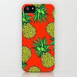 Pineapple Madness iPhone Case