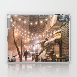 Snow - New York City - East Village Laptop & iPad Skin