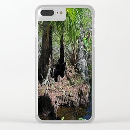 Restless Fear Clear iPhone Case