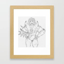 Warrior Framed Art Print