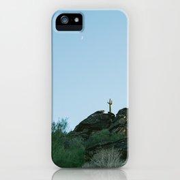 Arizona Desert Moon iPhone Case