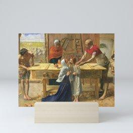 John Everett Millais - Christ in the House of His Parents Mini Art Print