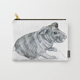 Naked Wrinkly Piggie Carry-All Pouch