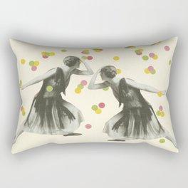 Dance : Gemini Rectangular Pillow