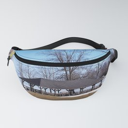 Shelter by the Lake Fanny Pack
