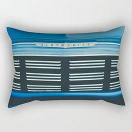 Blue Oldsmobile Rectangular Pillow