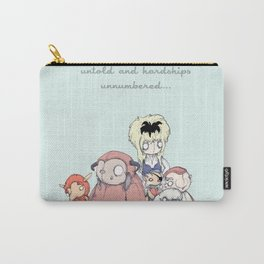 Through Dangers Untold Carry-All Pouch