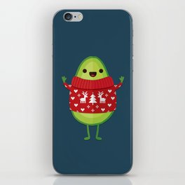 AVO MERRY CHRISTMAS iPhone Skin