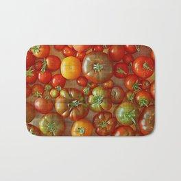 Heirloom Tomatoes Bath Mat