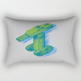 Tank T Rectangular Pillow