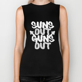 Suns Out Guns Out Workout Fitness Training Tee Lifting Bodybuilding T-Shirts Biker Tank