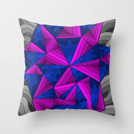 smell the colour 11 Throw Pillow