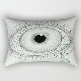 Eye Ball Rectangular Pillow