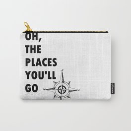 Oh, The Places You'll Go by Dr. Seuss Carry-All Pouch