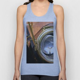 Old Headlights Unisex Tank Top