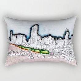 BRISBANE POSTCARD SERIES 005 Rectangular Pillow