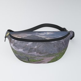 High mountains scenery in Picos de Europa, Spain.  Fanny Pack