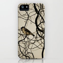 Lonely Bird... iPhone Case