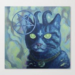 Unholy Kitty Canvas Print