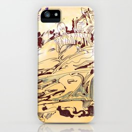 Tired of War yet? Try Electric! :D iPhone Case