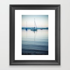 small amplitude Framed Art Print