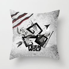 Teen Wolf: Part of the Pack Throw Pillow