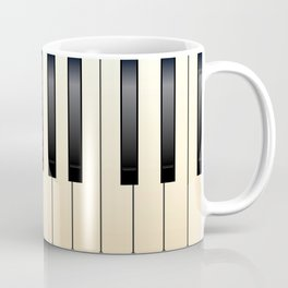 Piano Keys Coffee Mug