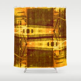 Gimmie Shelter Shower Curtain