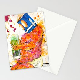 PERPLEXED Stationery Cards