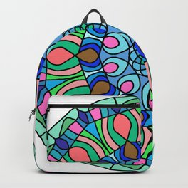 Abstract fractal Backpack