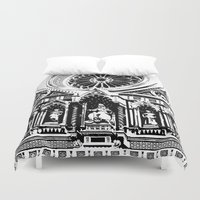 florence Duvet Covers featuring Florence by Mad Love