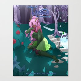 Tethered: Melodwyn's Story Canvas Print